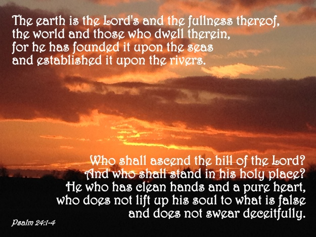 Psalm 24:1-4