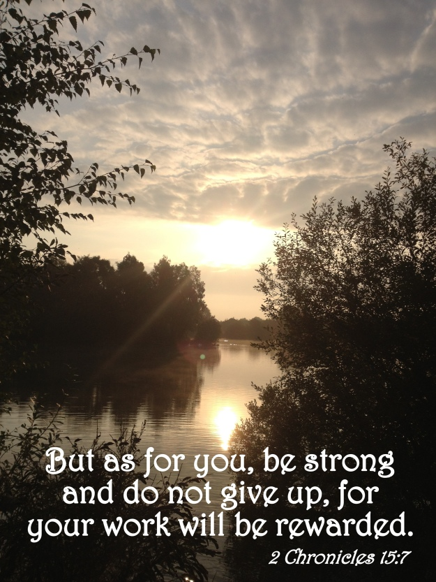 2 Chronicles 15:7