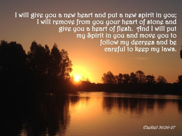 Ezekiel 36:26-27