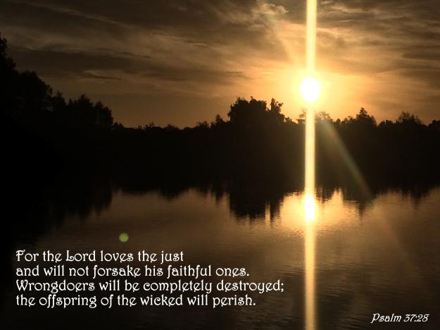 Psalm 37:28