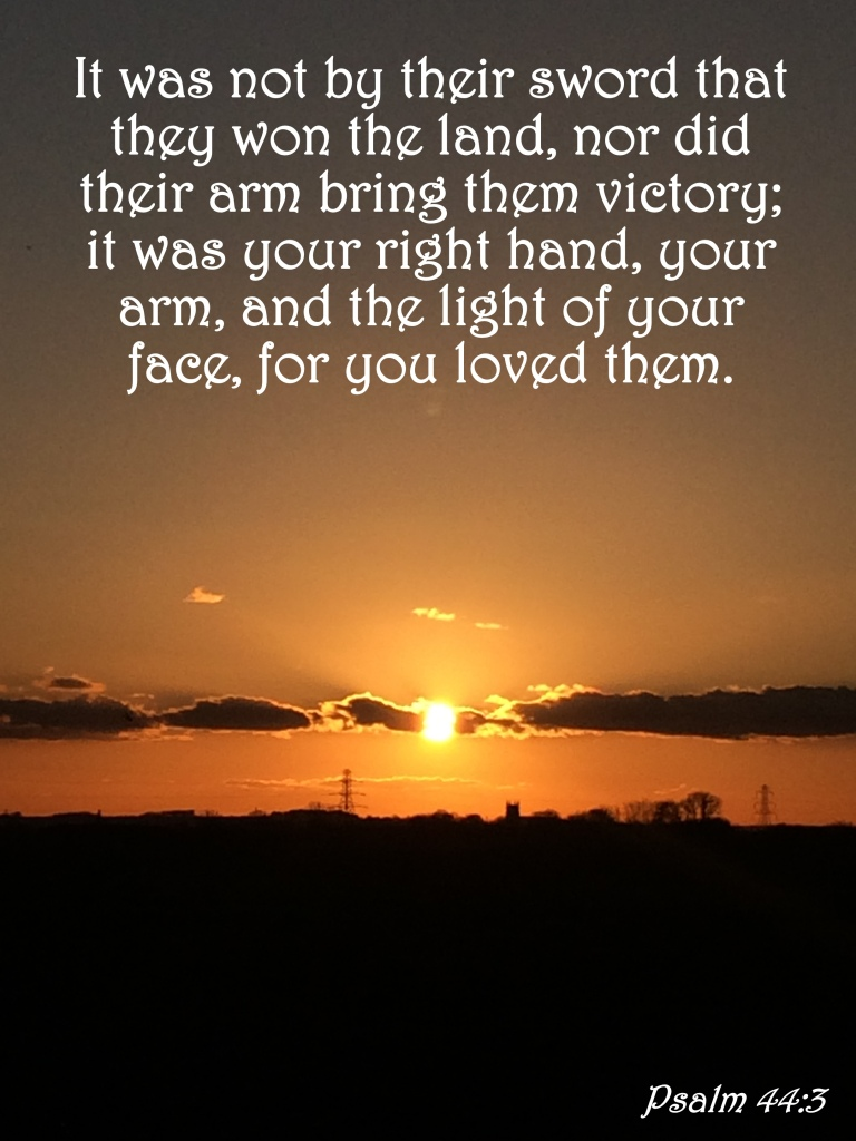 Psalm 44:3