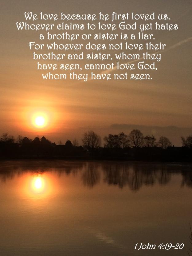 1 John 4:19-20