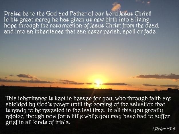 1 Peter 1:3-6