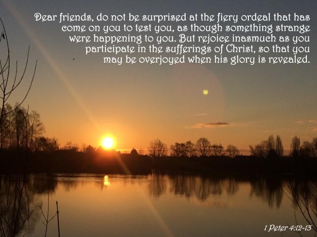 1 Peter 4:12-13