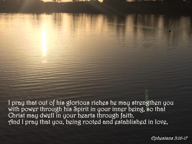 Ephesians 3:16-17
