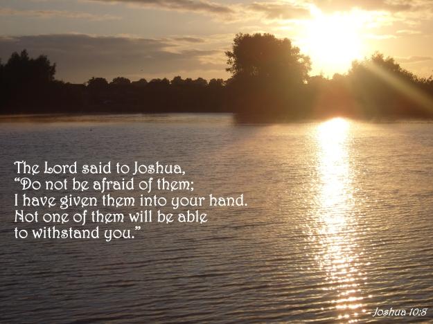Joshua 10:8