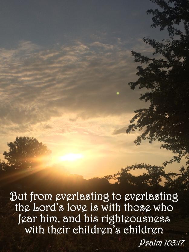 Psalm 103:17