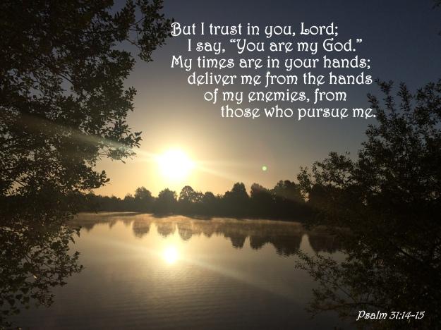Psalm 31:14-15