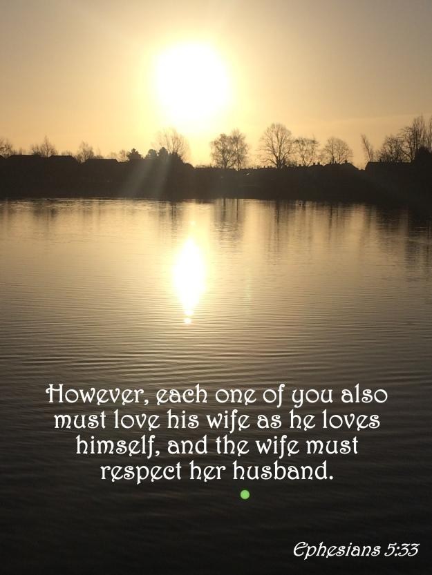 Ephesians 5:33