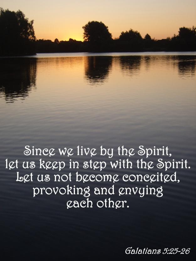 Galatians 5:25-26