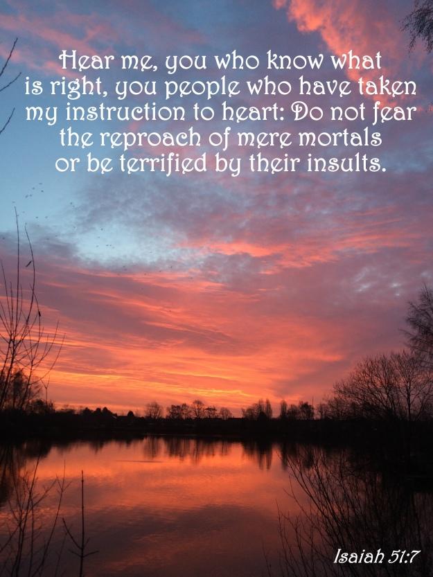 Isaiah 51:7