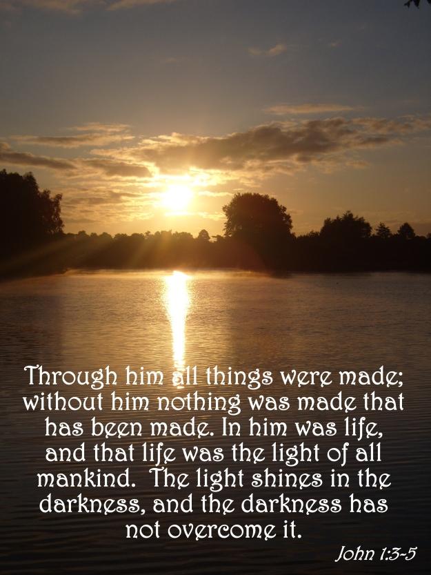 John 1:3-5
