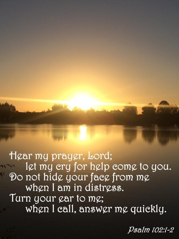 Psalm 102:1-2