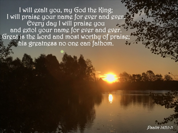 Psalm 145:1-3