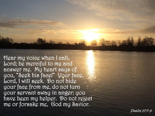 Psalm 27:7-9