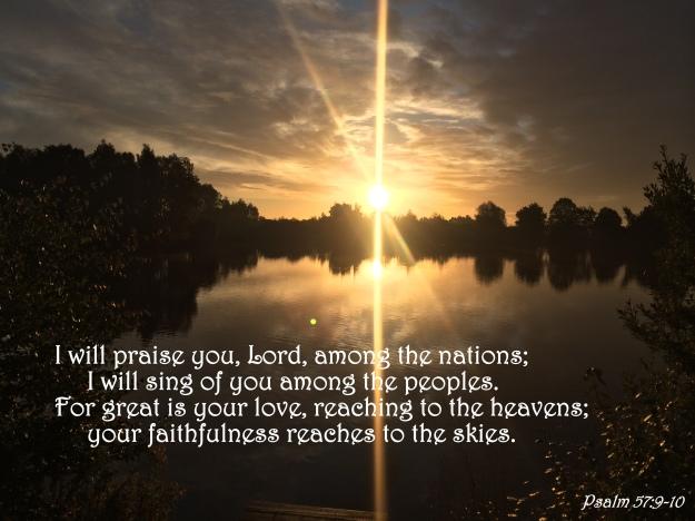 Psalm 57:9-10