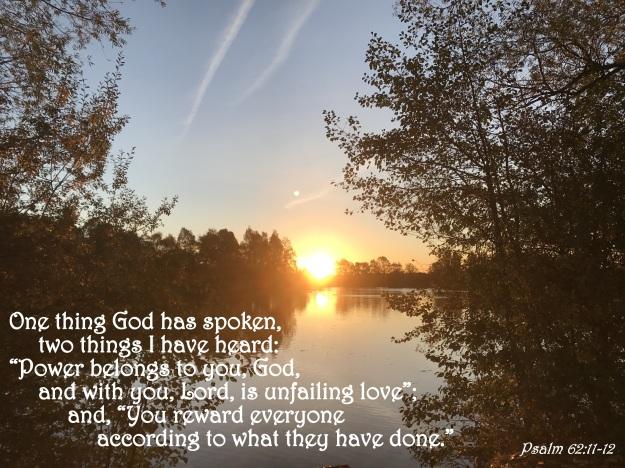 Psalm 62:11-12