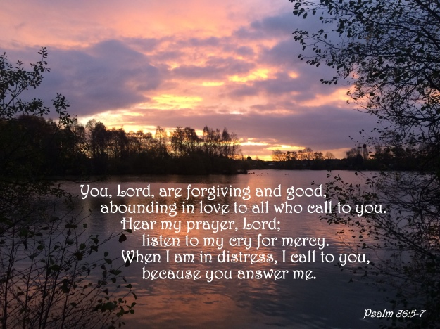 Psalm 86:5-7