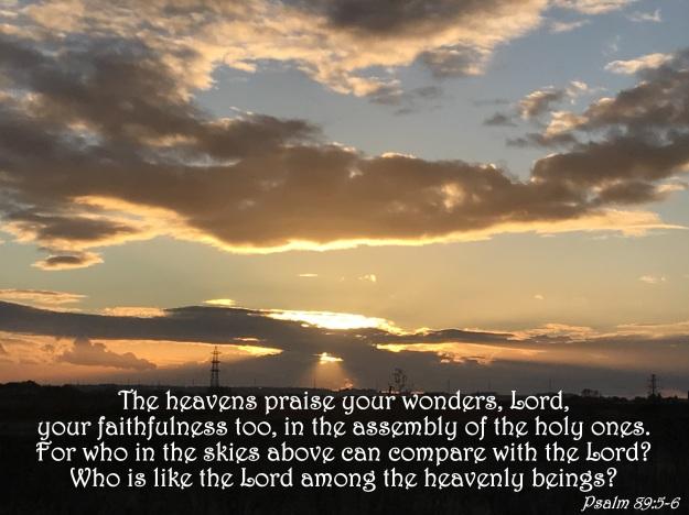 Psalm 89:5-6