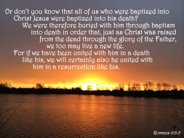 Romans 6:3-5