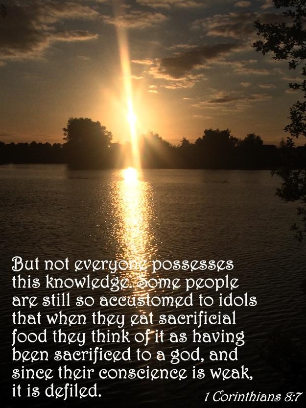 1 Corinthians 8:7