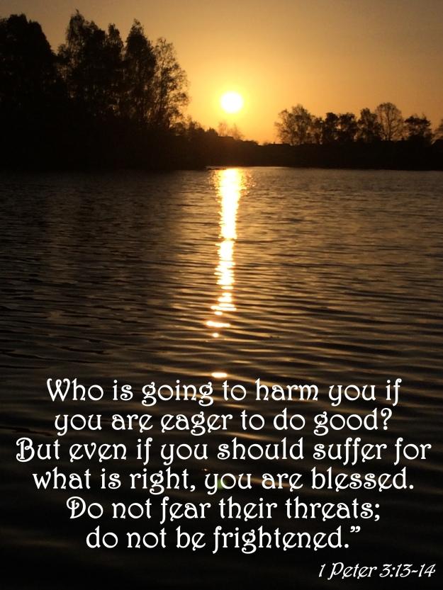 1 Peter 3:13-14