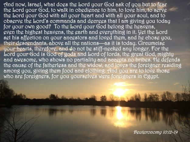 Deuteronomy 10:12-19
