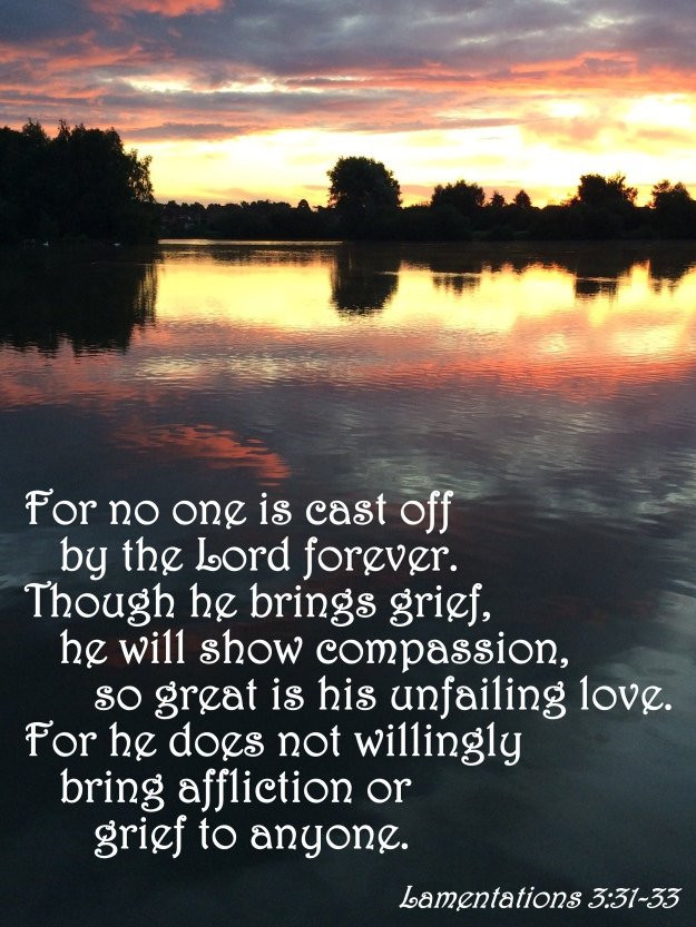 Lamentations 3:31-33
