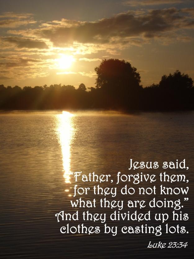 Luke 23:34