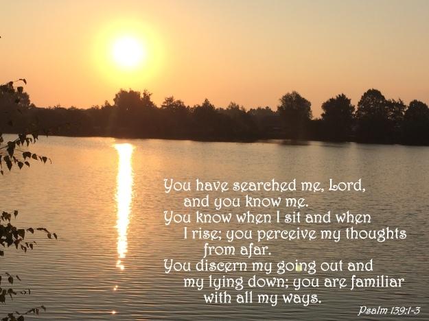 Psalm 139:1-3