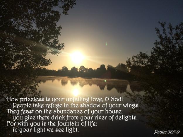 Psalm 36:7-9