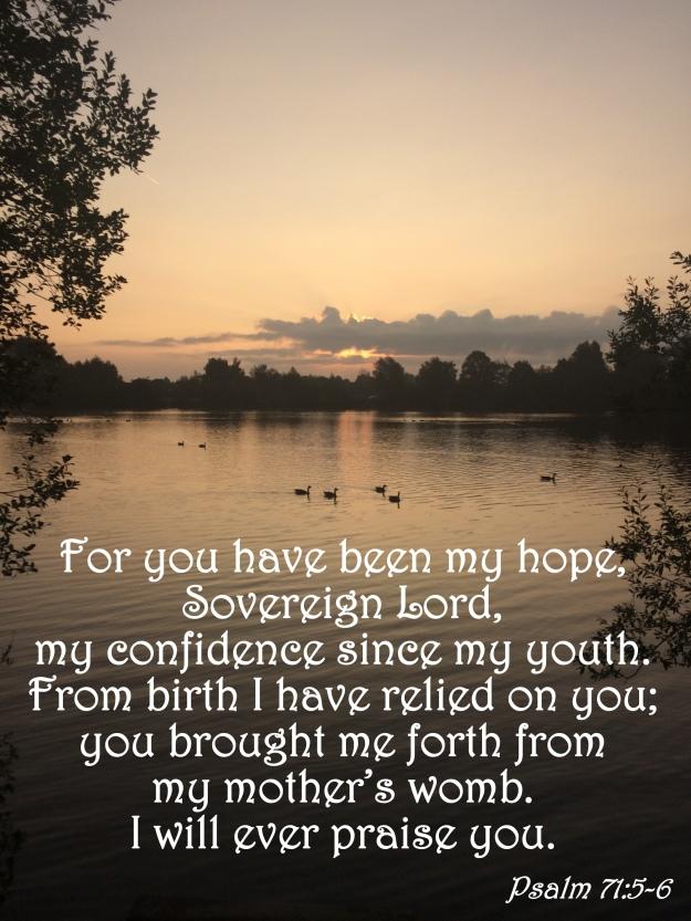 Psalm 71:5-6