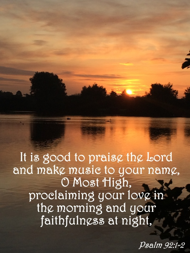 Psalm 92:1-2