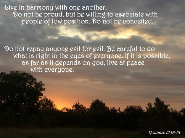 Romans 12:16-18
