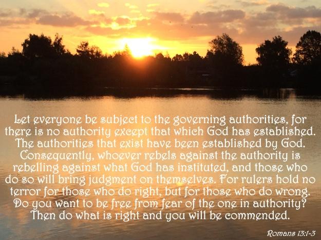 Romans 13:1-3