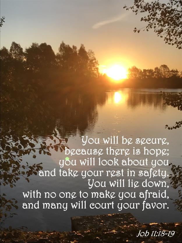 Job 11:18-19