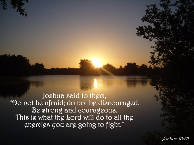 Joshua 10:25