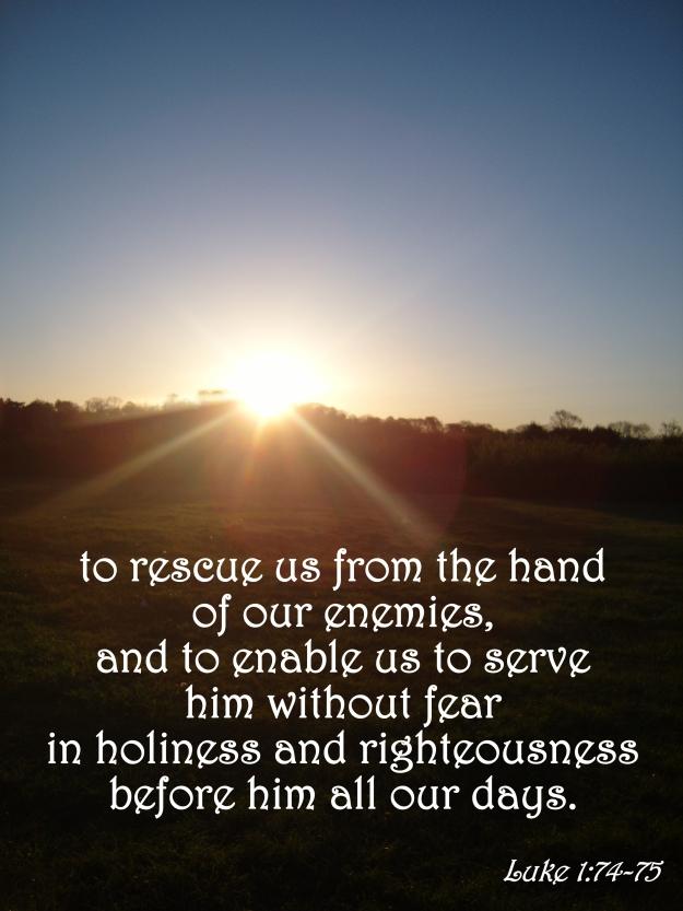Luke 1:74-75
