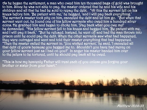 Matthew 18:24-35