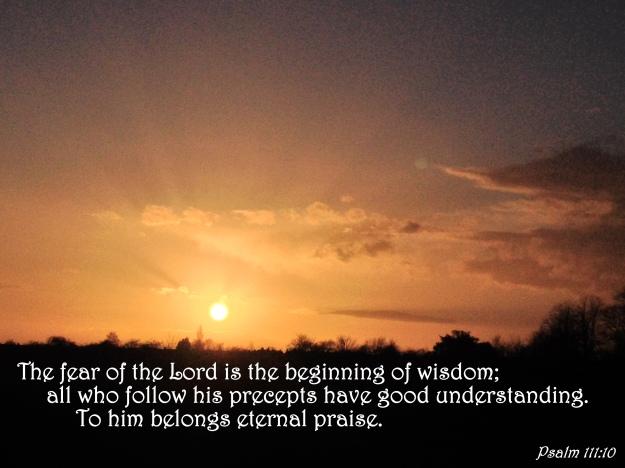 Psalm 111:10