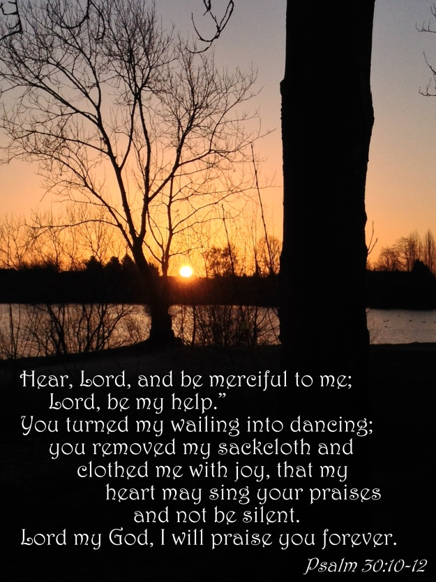 Psalm 30:10-12