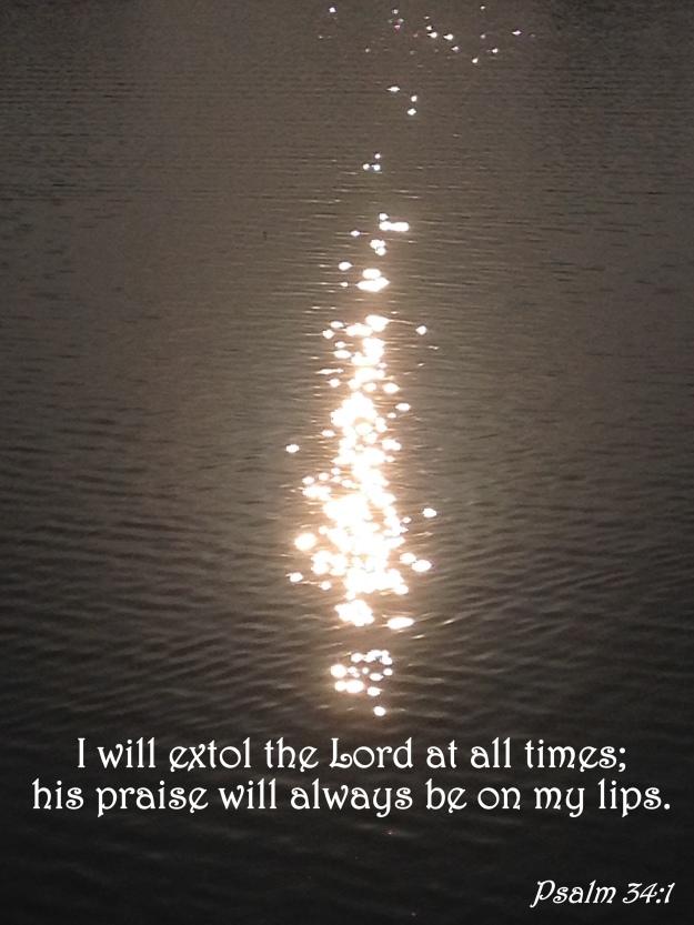 Psalm 34:1