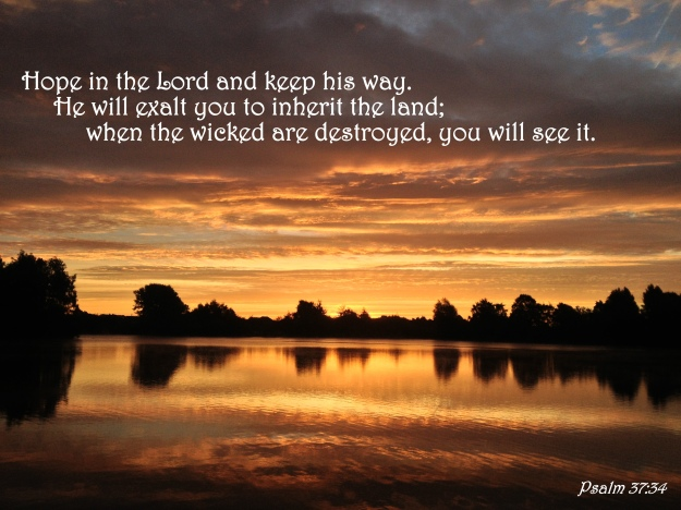 Psalm 37:34