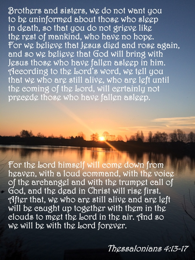 1 Thessalonians 4:13-17