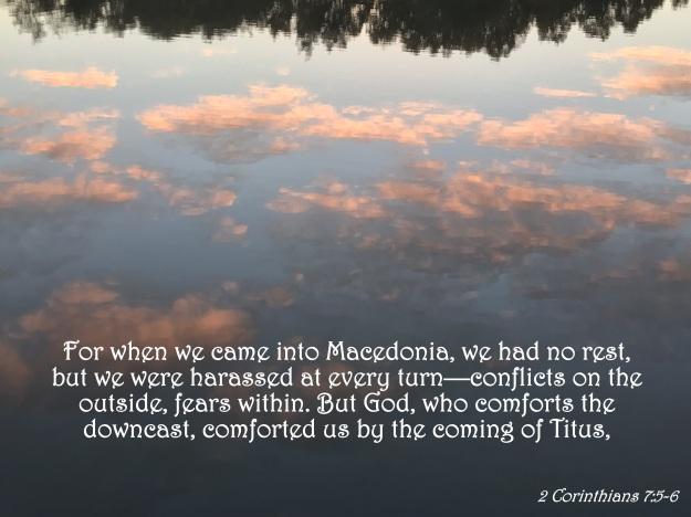 2 Corinthians 7:5-6