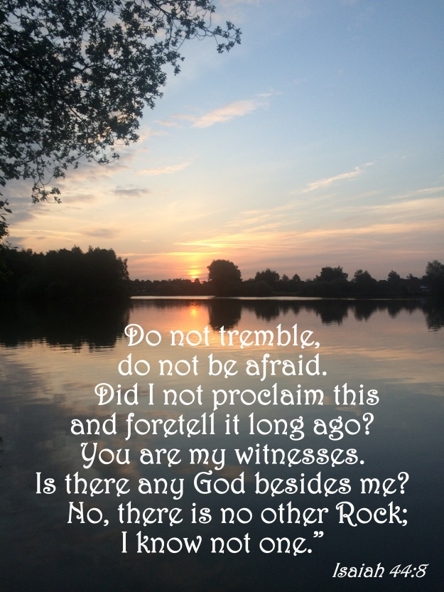 Isaiah 44:8
