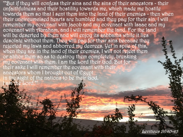 Leviticus 26:40-45