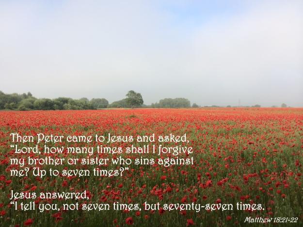 Matthew 18:21-22
