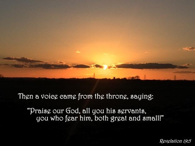 Revelation 19:5