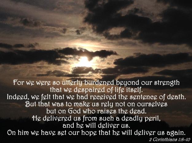 2 Corinthians 1:8-10